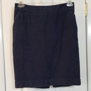 Merona Navy Pencil Skirt with Pockets